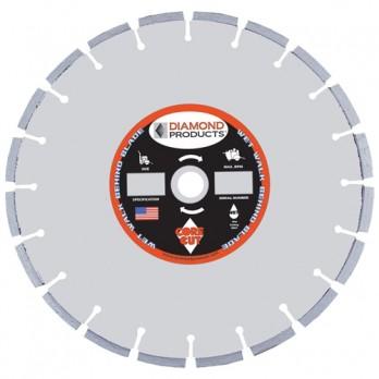"Diamond Products Core Cut 60031 OPT Super PRO Asphalt Overlay Concrete Wet Blade 20"" X .155"" OPTC5500X"