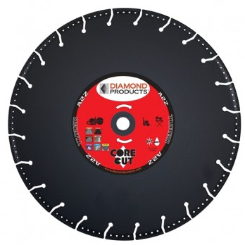 "Diamond Products 21571 A2Z Specialty Metal Cutting Blade 14"" X 1.25 - 1"" Arbor"