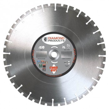 "Diamond Products 84967 12 Inch Cut-All Multi-Purpose High Speed Blade 12"" x 0.125 Universal Arbor"