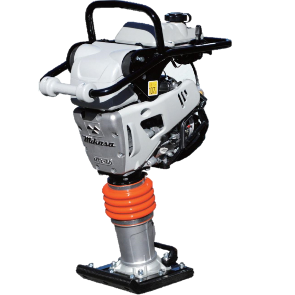 Multiquip Mikasa MTX60HD Honda Rammer, GX100 Engine, 3,060 lb Impact Force, 10.4 in Shoe