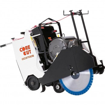 Core Cut CC3700 Self Propelled Concrete Saw 9209