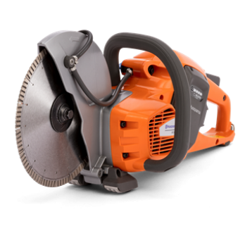 "Husqvarna K535i Battery Powered 9"" Cut Off Saw, Concrete Power Cutter 967795902 with 9"" Blade"