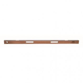 "Kraft Tool SLAL48 48"" Professional Asphalt Mahogany I-Beam Level (2 Vials)"