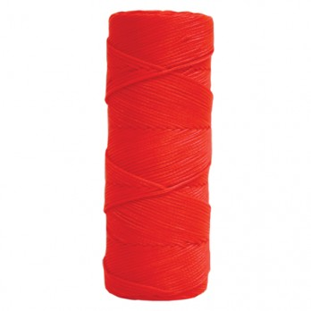 Kraft Tool BC360 Fluorescent Orange Braided Nylon Mason's Line - 1,000' Tube