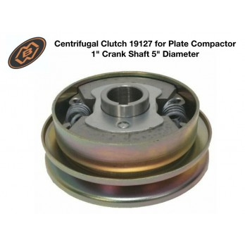 "MBW 19127 OEM Centrifugal Clutch for Plate Compactor (1"" Crank Shaft 5"" Dia)"