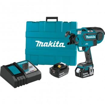 Makita XRT01TK Cordless Rebar Tying Gun, 18v Battery, Charger and Case