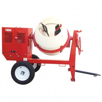 Heavy Duty Poly Drum 12 Cu Ft Concrete Mixers by Multiquip with Honda Engine MC12PH