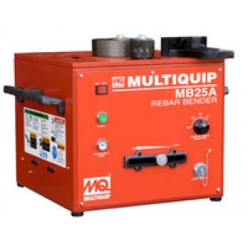 "Multiquip MB25A Portable Rebar bender, Bench Type, 1"" Bar Capacity, 115V"