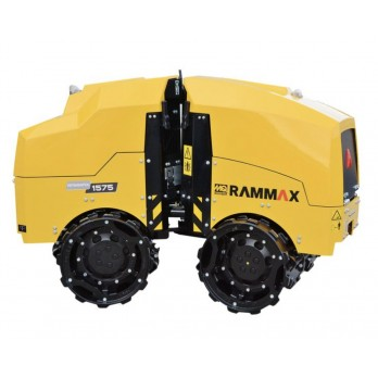 Multiquip Rammax  RX1575 Articulating Trench Roller with Infrared Remote, 24/33 inch Wide Drums & 20 HP Yanmar Engine