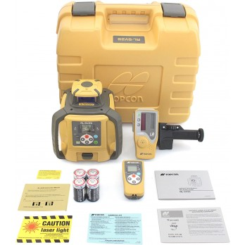 Topcon RL-SV2S 313990772 Self-Leveling Dual Grade Rotary Laser