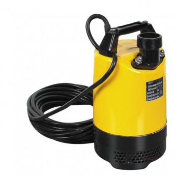 Wacker PSA2500 2 Inch 2/3 HP Submersible Pump with 39.5 feet head, 62.4 GPM