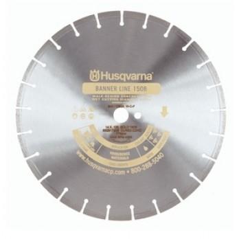 "18"" Husqvarna 542751078 Black 500B-R Wet Asphalt Blade- 3 Pack"