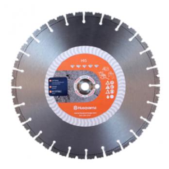 "14"" Husqvarna 542774541 HI5 Elite-Cut Diamond Saw Blade Wet/Dry- 5 pc pack"
