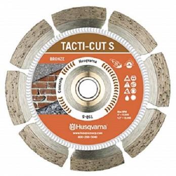 """4-1/2"""" Husqvarna 542761409 Tacti-Cut S-Dri Disc Segmented Blade-10 pc"""