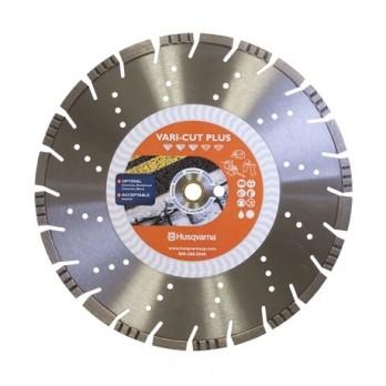 "16"" Husqvarna 585580802 Vari-Cut Plus Saw Blade Wet/Dry- 3 pc"