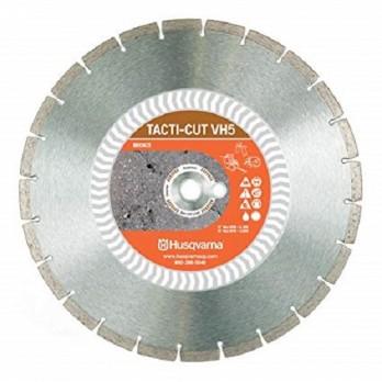"12"" Husqvarna 542774462 Tacti-Cut VH5 Diamond Saw Blade Wet/Dry - 5 pc"