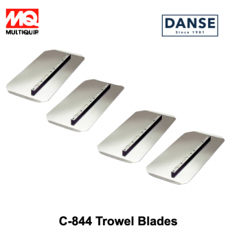 "C-844 Trowel Blades 4 Pack Combination Blade 8"" X 14"" by Multiquip"