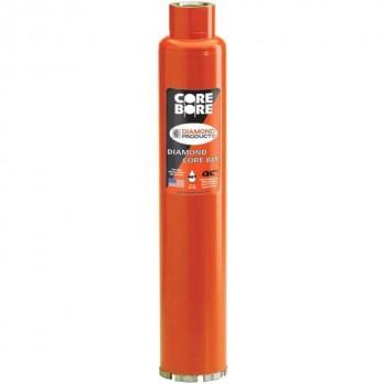 Heavy Duty Orange Turbo Wet Diamond Core Bit by Core Bore Diamond Products