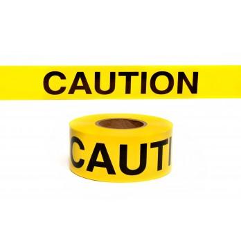 Johnson Level Standard Yellow Caution Tape - 3 Inch x 1000 feet 3324