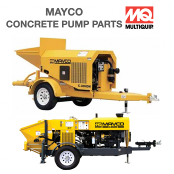 """EM28903 2 1/2"""" S/J Coupling for CD30 Mayco Concrete Pump by Multiquip"""