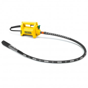 Wacker HMA Concrete Internal Vibrator Kit includes 1.5kW M1500 Motor 6.5ft. Flexible Shaft and 1 inch Head