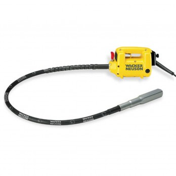 Wacker HMA Concrete Internal Vibrator Kit includes 1.8kW M2500 Motor 13ft. Flexible Shaft and 1 3/8 inch Head
