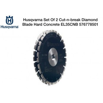Cut-n-break Diamond Blade Set for Husqvarna K760 K4000 Cut-n-Break Saw EL35CNB 576778501