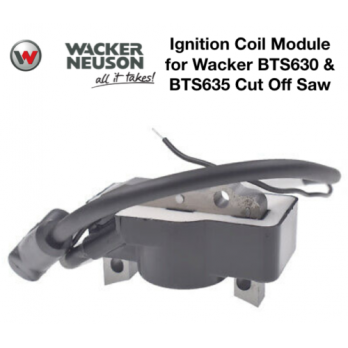 Ignition Coil for Wacker Neuson BTS630, BTS635 Cut Off Saw 0213749 5000213749