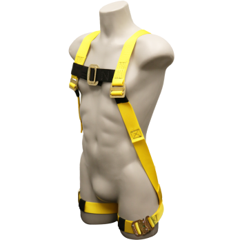 670 Full Body Harness, bayonet buckle legs by FrenchCreek Production Yellow