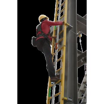 Anodized aluminum climbing rail by FrenchCreek Production 1-1100-AR 11100AR