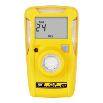 BW Honeywell Clip 2 Year Personal H2S Single Gas Detector BWC2-H