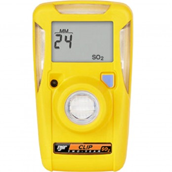 BW Honeywell Clip 2 Year Personal sulpher Dioxide (SO2) Single Gas Detector BWC2-S
