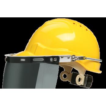 Gateway Safety Face Shield Adaptor/holder Aluminium with clear visor 682 661
