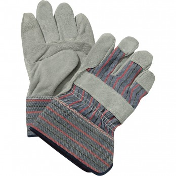 Double Palm Leather Gloves (6 Pairs)