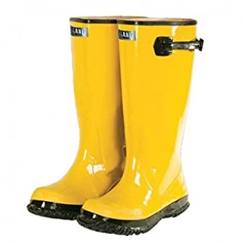 Yellow Slush Boots, Size 10-17