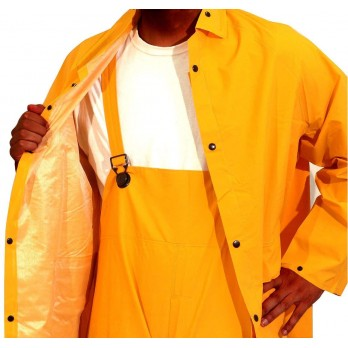 3 Piece Rain Suit PVC Heavy Duty, Size 2XL & 3XL RW300