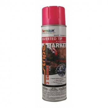 Stripe 3 Series Marking Paint 17 oz Pink Water Based 20379 20-379